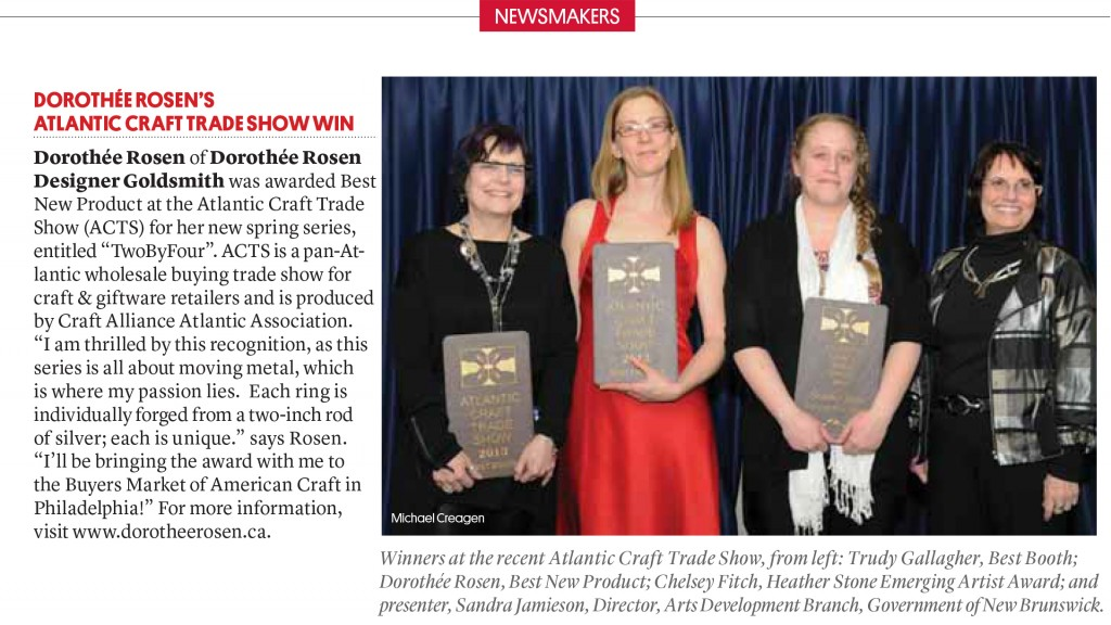 Atlantic Craft Alliance 2013 Prizewinners