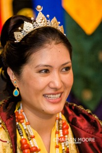 Judy designed and executed this crown for the Sakyong Wangmo (photo by Marvin Moore. All rights reserved. Used with permission)