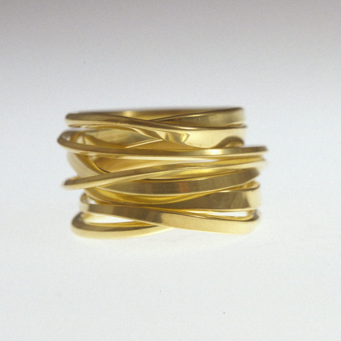 Dorothee Rosen featured in American Made Show OnefooterPlus in 18k Gold