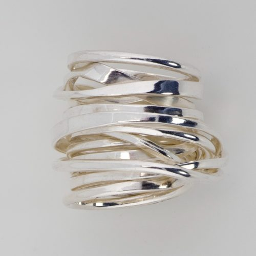 Threefooter Ring Sterling Silver