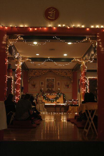 solstice, candlelight, Halifax Shambhala Centre
