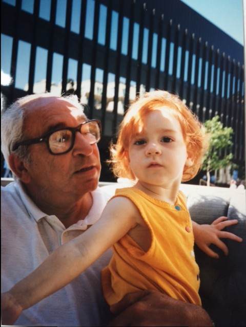 Grandpa and Natalie