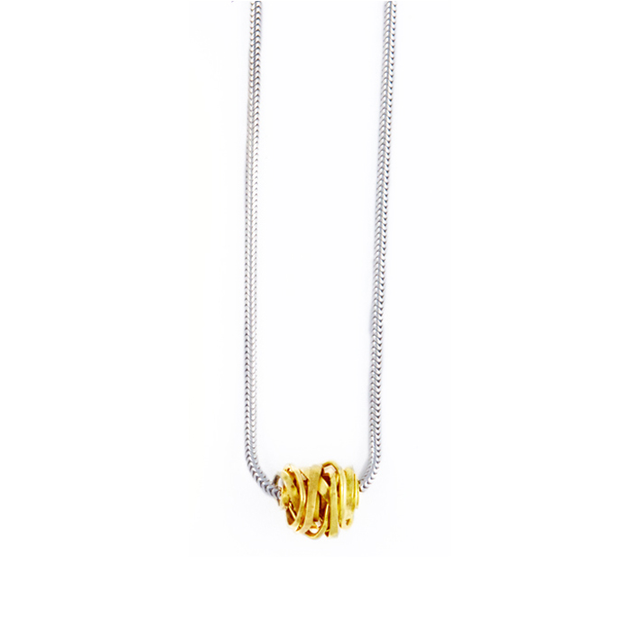Onefooter Necklace 18k Yellow Gold
