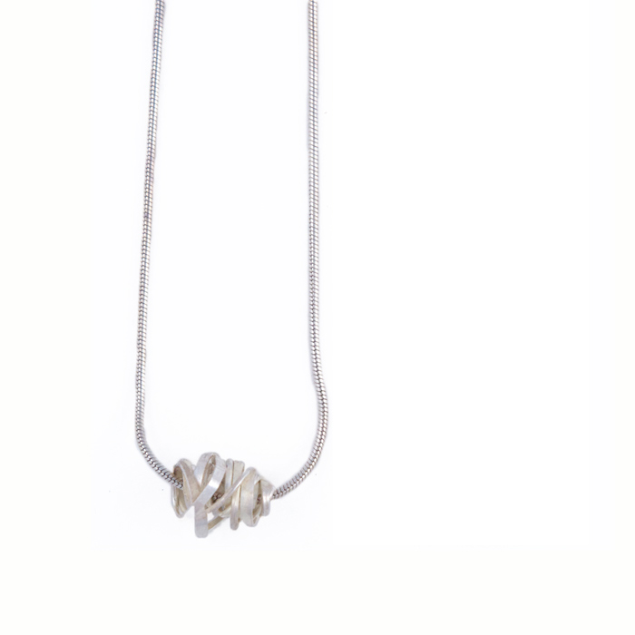 Onefooter Necklace Sterling Silver