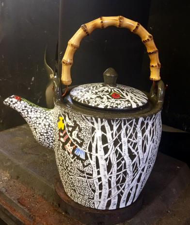I love my new teapot!