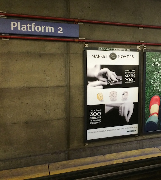 The subway ads were particularly stynning