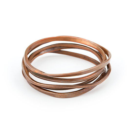Onemeter Bangle in Copper