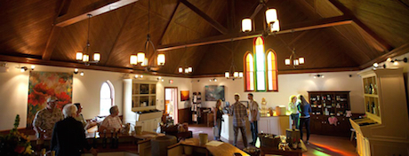 Don't miss the amazing tasting room!