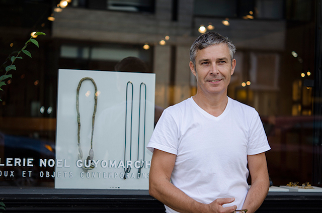 Noel in front of his amazing gallery in Montreal. Don't miss a visit if you are in the city!