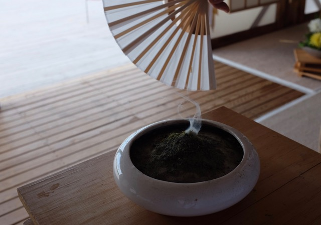 local powdered juniper is used as incense