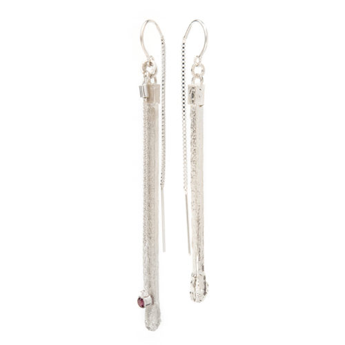 Ignite Earrings Sterling Silver