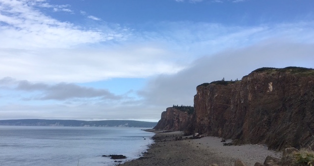 The view from Cape d'Or