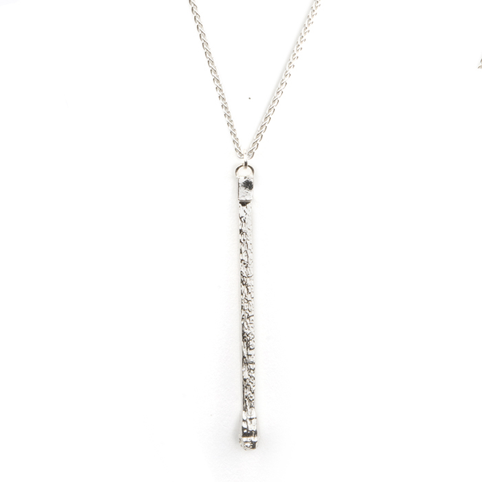 IGNITE! Single-Matchstick Necklace in Sterling Silver