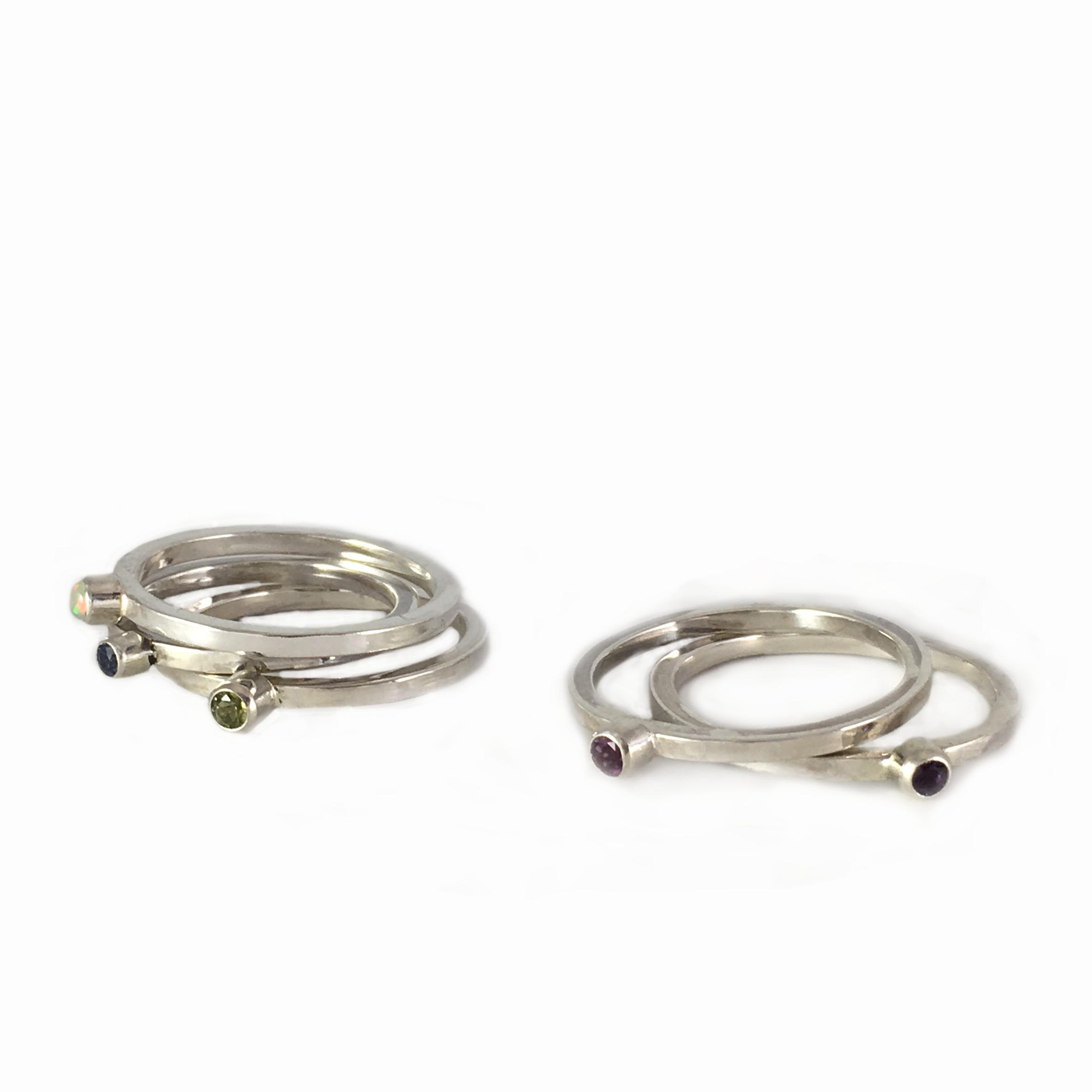 Birth Stone Ring - Apprentice Series