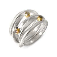 Rosecut Diamond Ring