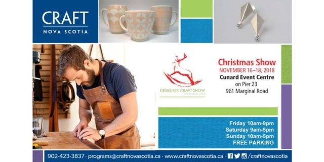 Craft Nova Scotia Designer Craft Christmas Show