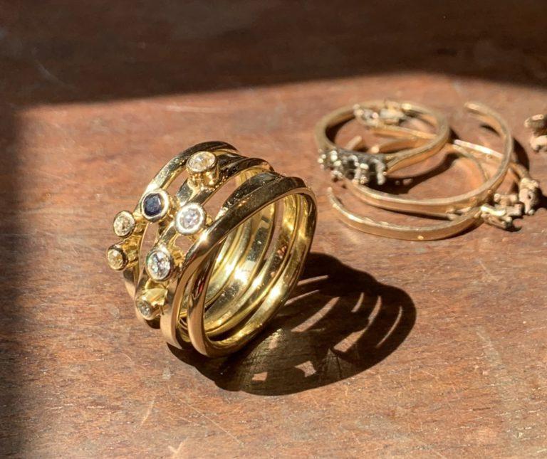 Custom Rings and Custom Gold Jewellery