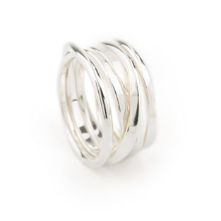 OneFooter Ring in Silver