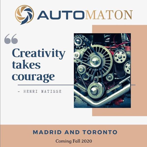 dorotheerosen.ca Dorothee Rosen Gold Jewellery Show AutoMaton 20.21 Madrid & Toronto Event