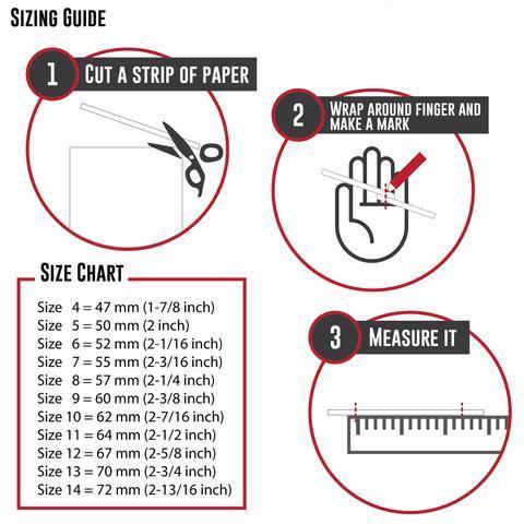 Dorothee Rosen Ring Size Guide