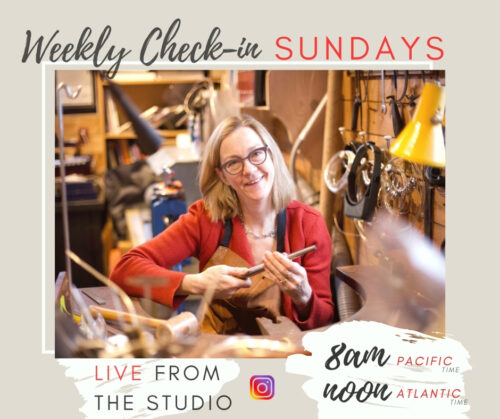 Dorothee Rosen Weekly Instagram Live from the Studio