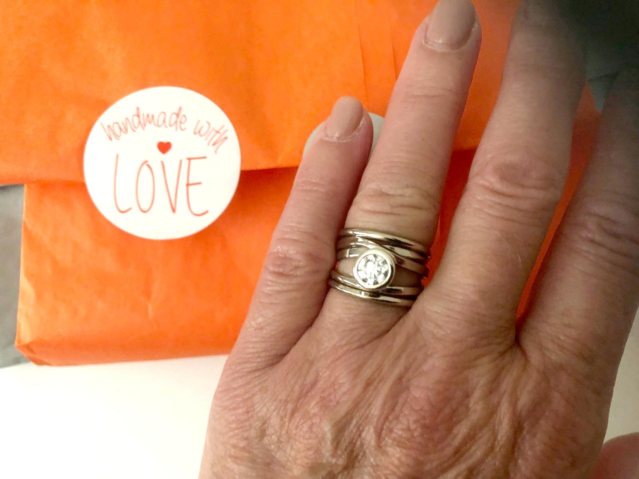 Dorothee Rosen Testimonial Onefooter Ring -Diane