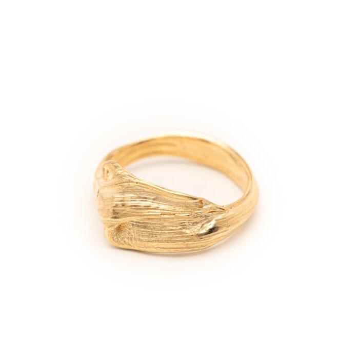 Flow Ring 01 DorotheeRosen 18k Ethical Fairmined ECO Gold