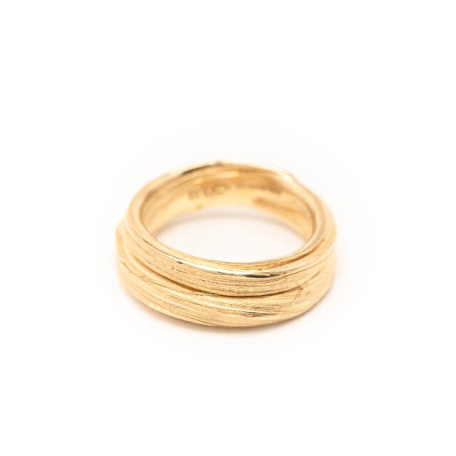 DorotheeRosen 18k Ethical Fairmined ECO Gold Flow Ring 02
