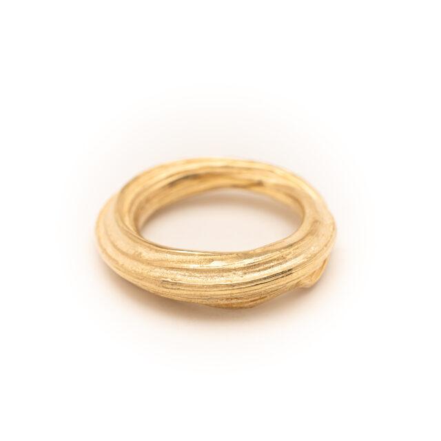 DorotheeRosen 18k Ethical Fairmined ECO Gold Flow Ring 04